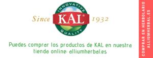Comprar otros productos de KAL en alliumherbal.es