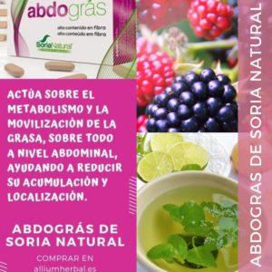 Abdogras de Soria Natural es un compuesto de extractos de melisa, morera y ajenjo