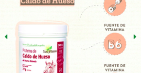 Proteína de Caldo de Hueso 300 gramos de Sura Vitasan